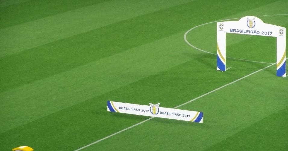 Cerimonial da CBF já está pronto na Arena Corinthians