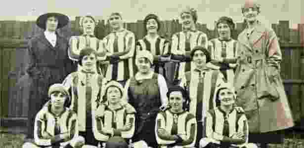 Dick Kerr Ladies, time feminino de operárias que fez história no século 20 - Reprodução/Dickkerrladies.com