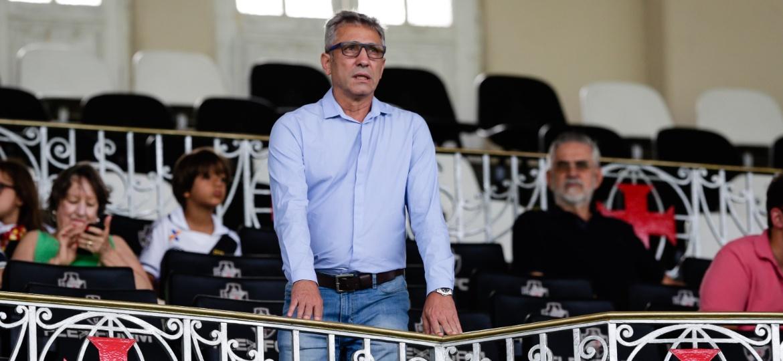 Novo presidente do Vasco, Campello começou a conversar com Eurico ainda no fim de 2017 - Andre Melo Andrade/Eleven