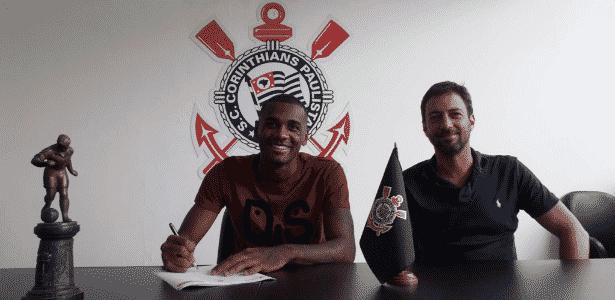 627eb5e0e7 Corinthians anuncia zagueiro Marllon