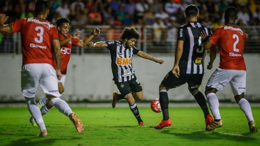 Jogo entre Boa Esporte x Atlético-MG no estádio Dilzon Melo pelo Campeonato Mineiro 2019 - Bruno Cantini / Atlético