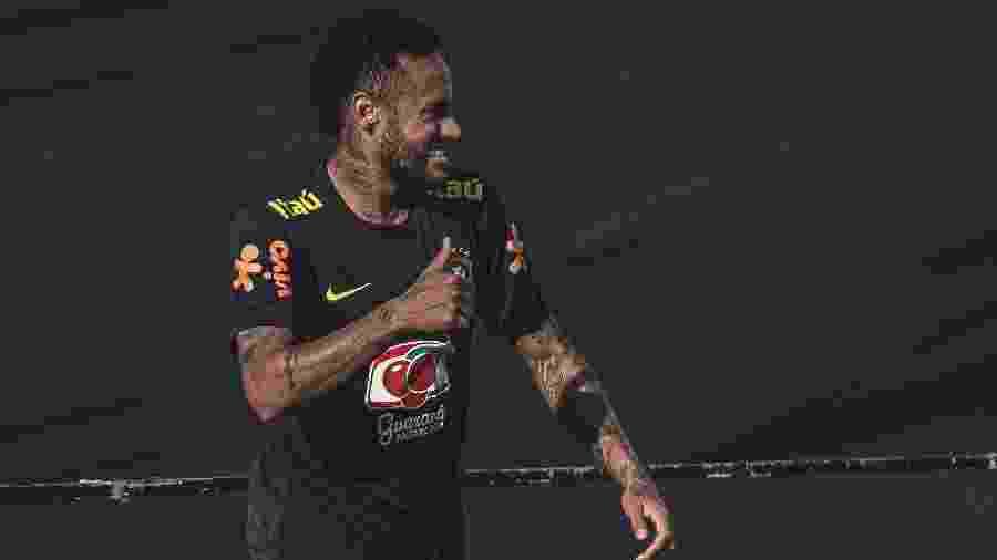 Neymar em treino da seleção brasileira - Pedro Martins / MoWA Press