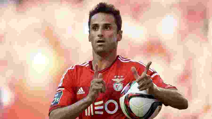 Jonas, ex-atacante do Benfica - PATRICIA DE MELO MOREIRA/AFP