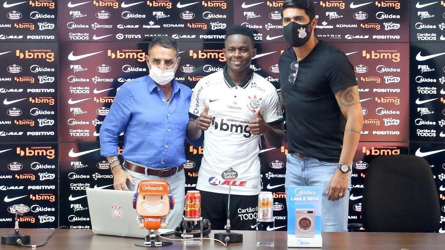 Cazares foi anunciado pelo Corinthians no fim de setembro de 2020 - Rodrigo Coca/Agência Corinthians
