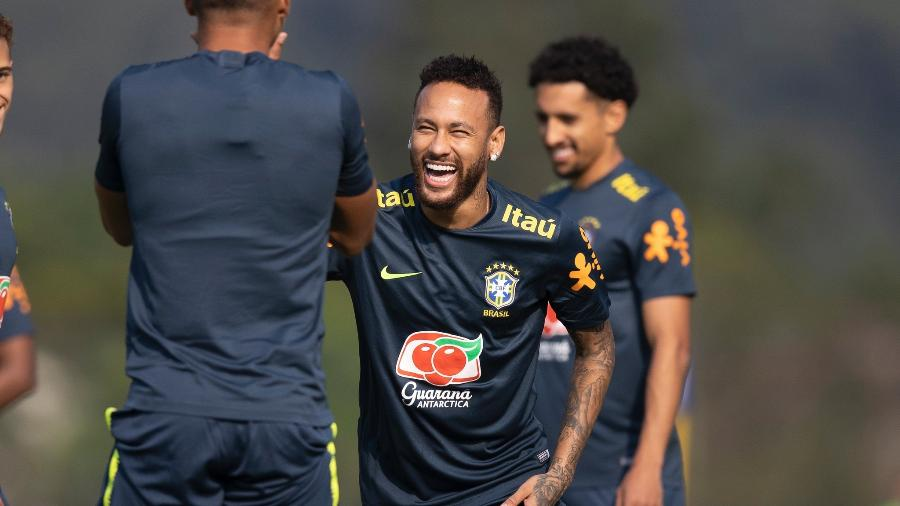 Neymar foi desfalque da seleção nos últimos amistosos, em novembro do ano passado, e agora volta à equipe - Lucas Figueiredo/CBF
