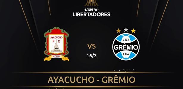 Jogo entre Ayacucho e Grêmio acontecerá no Equador após veto por covid-19