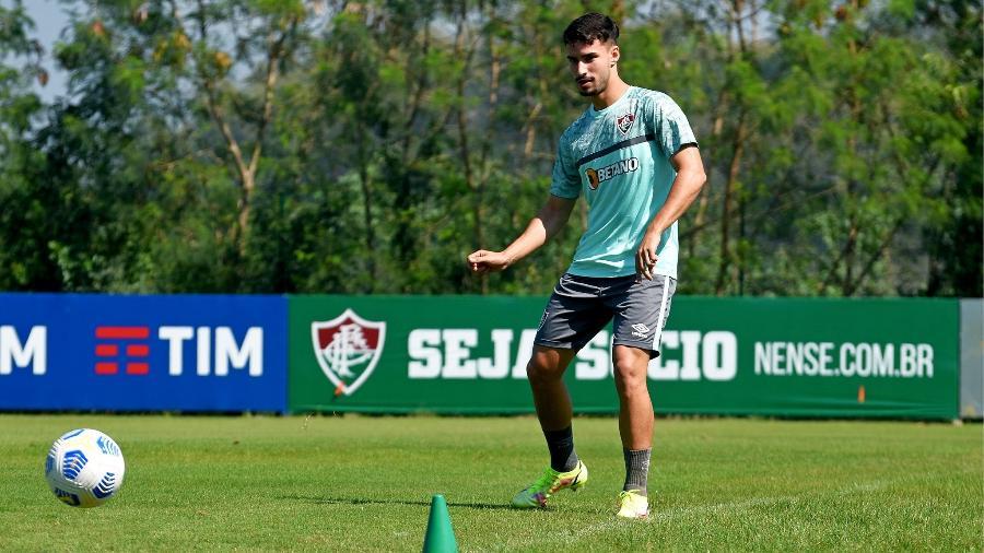 Após virar desfalque Fluminense, Martinelli deve voltar a ser titular contra o Cuiabá - Mailson Santana/Fluminense FC