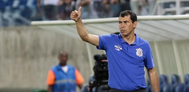Fábio Carille, treinador do Corinthians, acompanhará jogos do time da Copinha em Taubaté