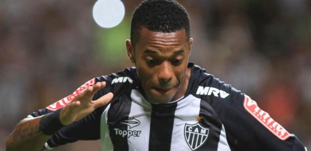Robinho fica é o grande desfalque do Atlético-MG para o jogo com o Tricordiano