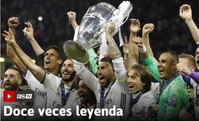 Jornal Às chamou Real Madrid de