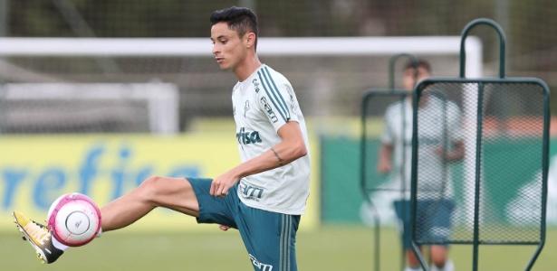 Diogo Barbosa estava participando de jogo-treino do Palmeiras quando sofreu uma entorse