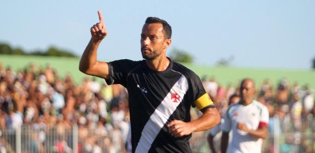 Nenê comemora seu gol de pênalti diante da Cabofriense - Paulo Fernandes / Flickr do Vasco