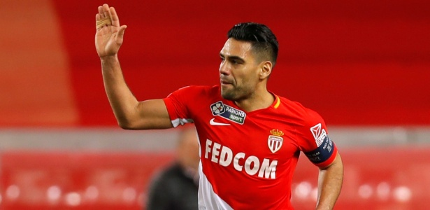 Falcao Garcia comemora gol do Monaco