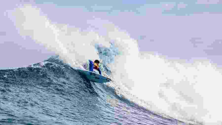 O surfista brasileiro Ítalo Ferreira em Margaret River - WSL/Matt Dunbar