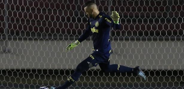 Weverton, goleiro do Palmeiras - Cesar Greco/SE Palmeiras