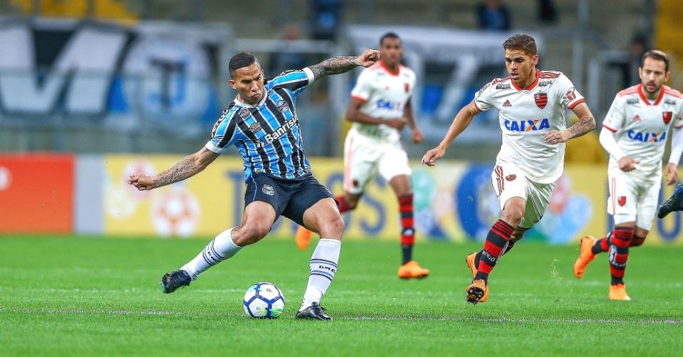 Grêmio e Flamengo se enfrentam na Arena Grêmio pelo Campeonato Brasileiro 2018