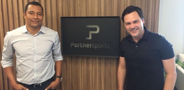 Gilberto Silva e Fábio Mello abrem escritório de consultoria esportiva em Belo Horizonte - Thiago Fernandes/UOL Esporte