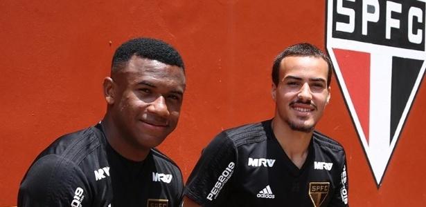 Luan, de 19 anos, e Igor Gomes, 19, devem jogar no profissional do São Paulo em 2019