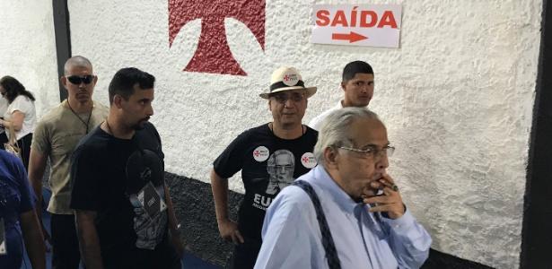 Eurico é um dos quase 900 que estão impedidos de participar da eleição do Vasco - Bruno Braz / UOL Esporte