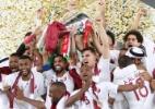 Qatar domina Japão e vence a Copa da Ásia com 100% de aproveitamento - Suhaib Salem/Reuters