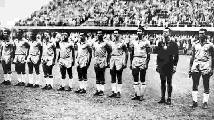 Seleção de 1958 - AFP - AFP
