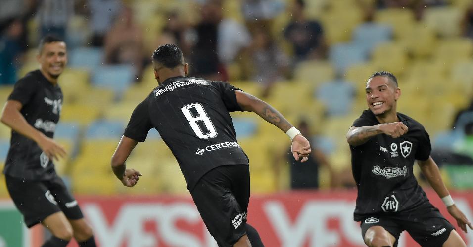 Botafogo Fluminense Campeonato Carioca gol Alex Santana