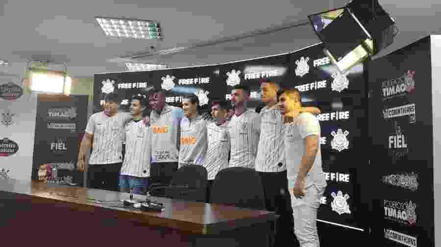 Corinthians apresenta time de e-sports  - Divulgação/Corinthians