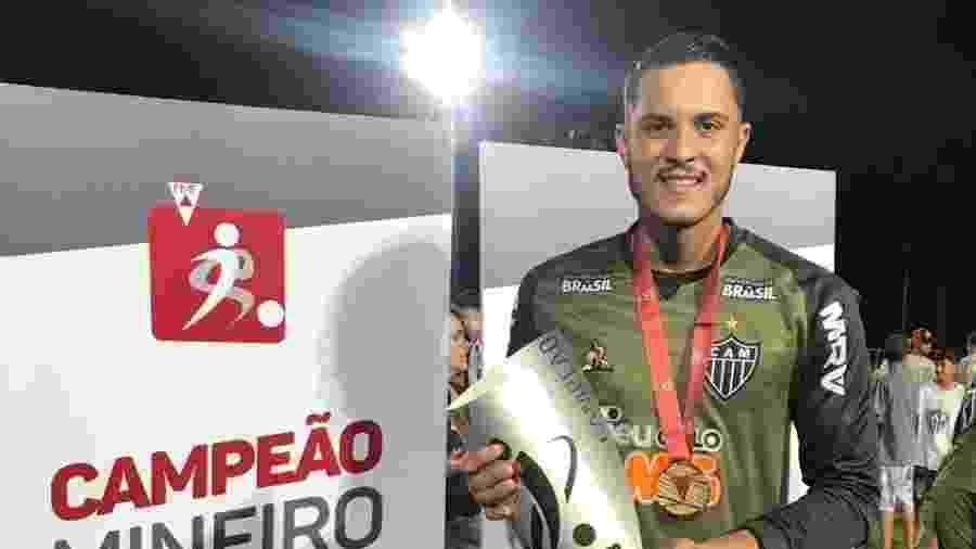 Jean, goleiro do time sub-20 do Atlético-MG - Divulgação/Atlético-MG