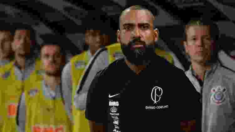Dyego Coelho estreou como vitória; interino pode permanecer até o fim do ano na função - Bruno Ulivieri/AGIF
