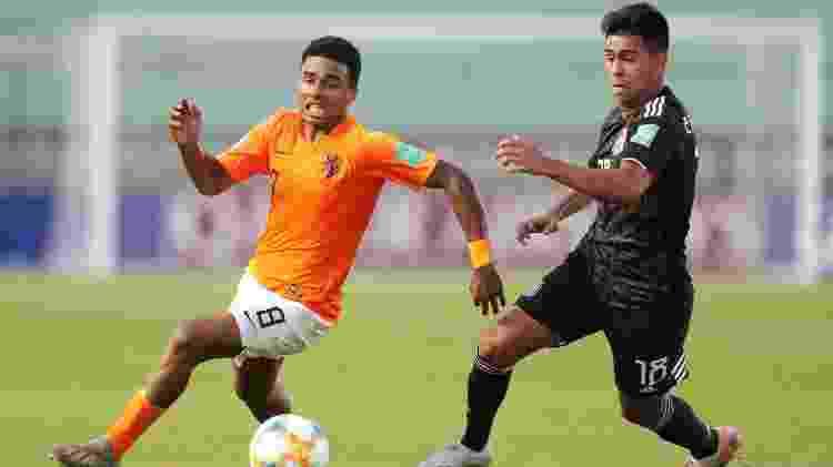 Efrain Alvarez,do México, é um dos destaques do Mundial sub-17 - SERGIO MORAES/REUTERS - SERGIO MORAES/REUTERS