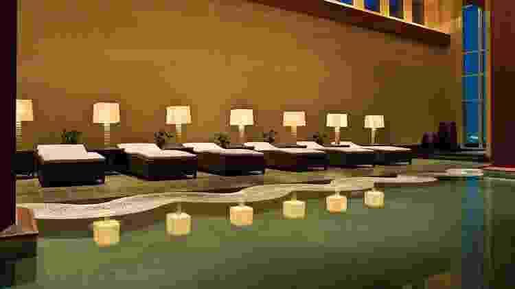 Spa no hotel do Flamengo em Doha - Divulgação/Hyatt