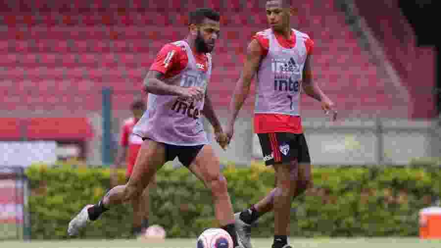 Daniel Alves, lateral-direito do São Paulo - Rubens Chiri/saopaulofc.net