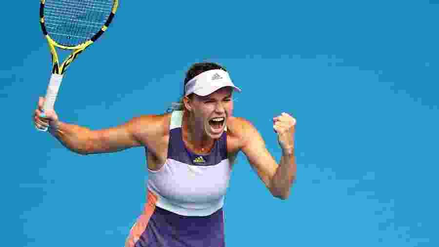 Caroline Wozniacki na segunda rodada do Australian Open 2020 - Reuters