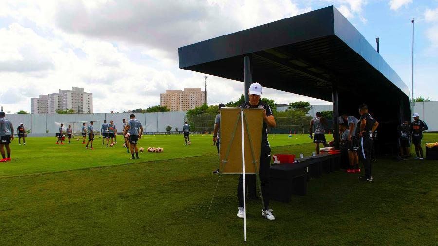 Corinthians voltará aos treinos no dia 1º de julho e fará testes físicos a partir de amanhã (22) - Daniel Augusto Jr./Agência Corinthians