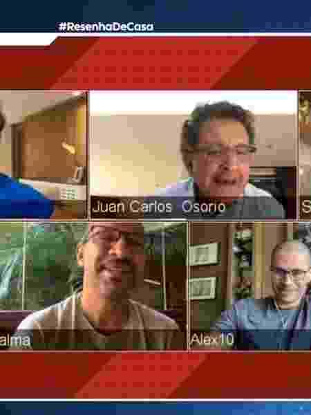 Osorio durante programa da ESPN Brasil - Reprodução