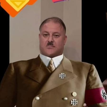 Rinaldo Rodrigues posta foto vestido como Hitler - Reprodução/Instagram