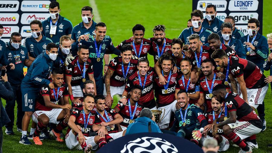 Flamengo foi o campeão do Campeonato Carioca 2020: edição de 2021 é oficializada pela Record - Thiago Ribeiro/AGIF