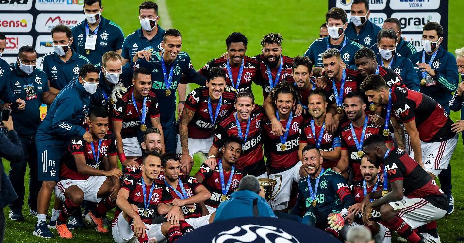 Flamengo é campeão do Campeonato Carioca 2020