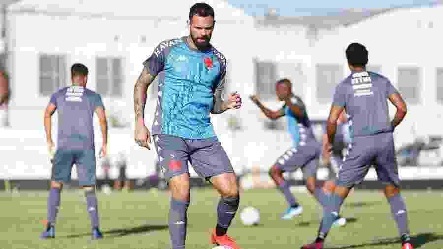 Zagueiro e capitão Leandro Castan será poupado pelo Vasco pela terceira vez consecutiva - Rafael Ribeiro / Vasco