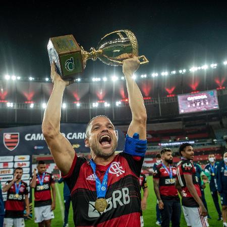 """Meia Diego do Flamengo: jogos do Carioca na Record vão confrontar o Paredão do """"BBB21"""" - Marcelo Cortes/Flamengo"""