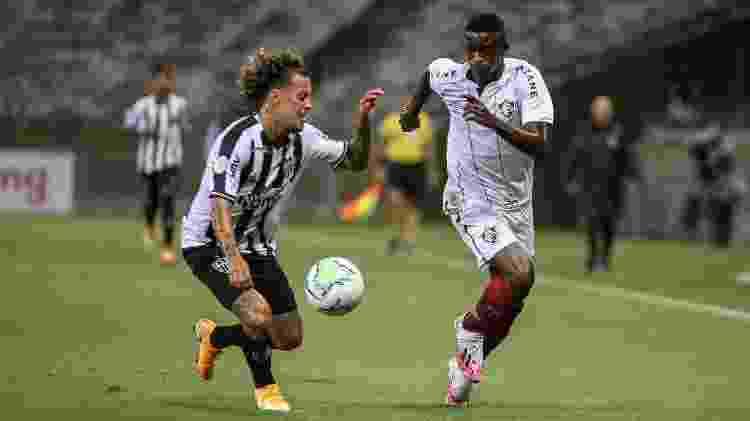 Luiz Henrique voltou ao Fluminense e teve ótima atuação contra o Atlético-MG - Lucas Mercon/Fluminense FC - Lucas Mercon/Fluminense FC