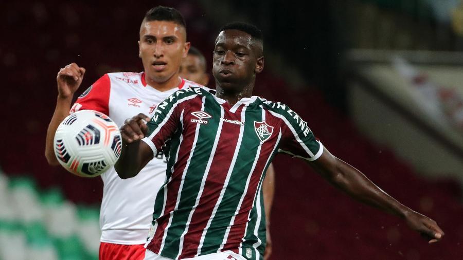 Luiz Henrique atuará ao lado de Fred e Gabriel Teixeira no ataque - Sergio Moraes-Pool/Getty Images