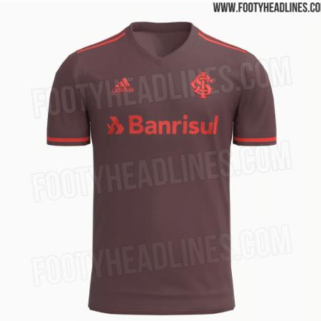 Suposta camisa 3 do Inter para temporada 2021 - Reprodução/FootyHeadlines.com