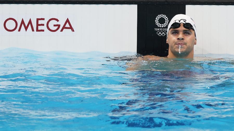 Michael Andrew, dos EUA, nas Olimpíadas de Tóquio - Tom Pennington/Getty Images