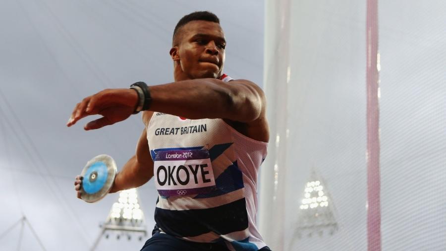 Lawrence Okoye em Londres-2012: atleta deixou para trás sonho da NFL pelo lançamento de disco - Alexander Hassenstein/Getty Images