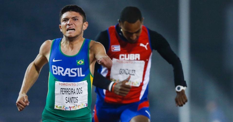 Aos 19 anos Petrúcio foi medalha de ouro no Parapan e é apontado como principal promessa do atletismo brasileiro paralímpico