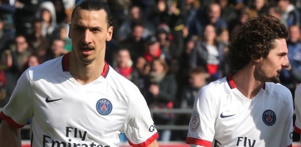 Zlatan Ibrahimovic reprovou conduta de Adrien Rabiot (foto) no treino