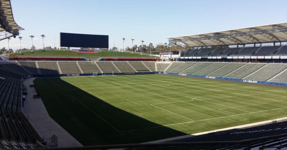 Estádio recebe jogos do LA Galaxy na MLS