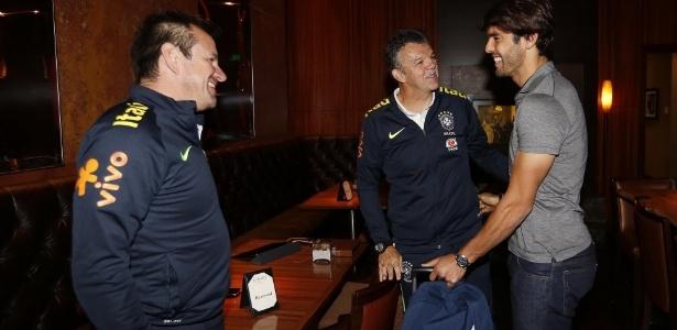 Kaká passou a ser dúvida da seleção brasileira para o resto da Copa América