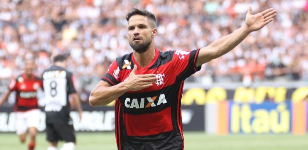 Diego é esperança do Flamengo para manter chances de título na Gavea